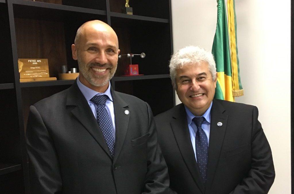 Agência da ONU discute agenda comum com novo ministro da Ciência e Tecnologia